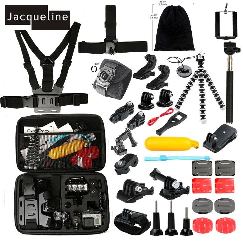Jacqueline für Zubehörset für gopro hero 6 5 4 3 montagesockel - Kamera und Foto