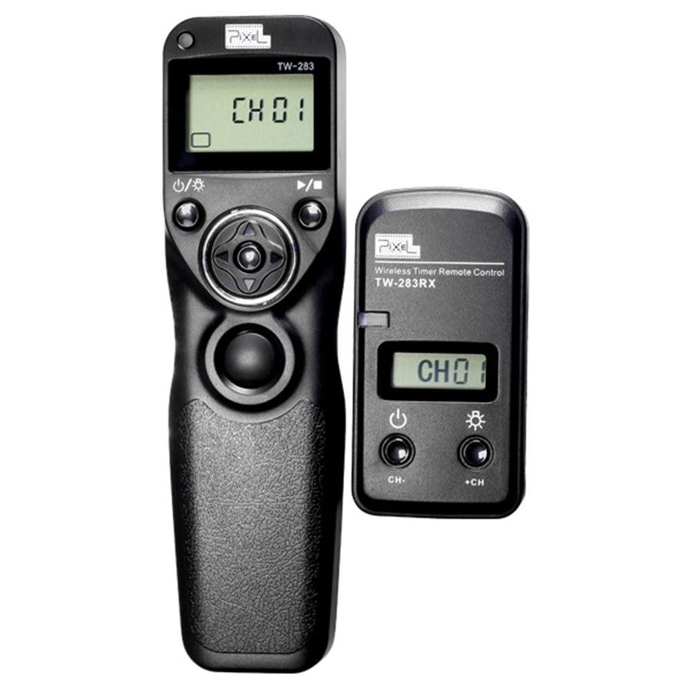 Pixel TW283 TW-283 N3 Wireless Timer Remote Control Shutter Release For Canon EOS 7D series 5D series 6D 5D 50D 40D 30D 20D 10D