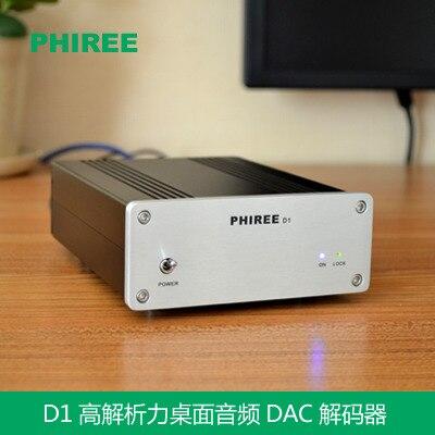 Unterhaltungselektronik Beste Wert Wm8741 24bit/192 Khz Pc Audio Decoder Unterstützung Usb Koaxial-und Optische Faser Hifi Dac Für Eine Klasse Verstärker