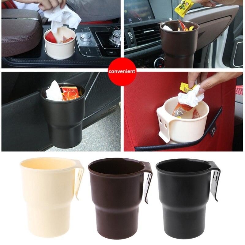 Горячая новинка, 1 шт. автомобильный контейнер для мусора, держатель для бутылки с напитком, автомобильная коробка для телефона, органайзер для автомобиля, аксессуары для интерьера, 3 цвета, высокое качество