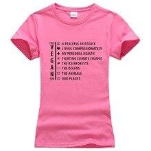 """""""I'm a Vegan for…"""" girlie / women's shirt"""