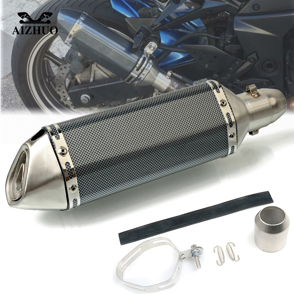 Motorcycle Exhaust pipe Muffler Escape DB killer 36MM 51MM FOR YAMAHA FJR 1300 XT1200ZE FJ 09 MT 09 MT 10 MT09 MT10 in Exhaust Exhaust Systems from Automobiles Motorcycles