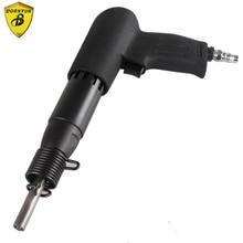 цена на air riveter quality industrial pneumatic air riveter gun for iron stainless steel half hollow rivet pistol for air riveting tool