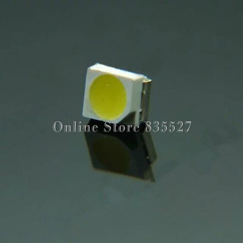 100PCS/LOT 1210 Cool White 3528 SMD LED 1000-1300mcd 13000-17000K Cool White Light-emitting Diodes