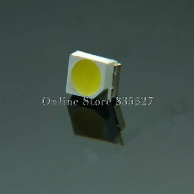 100 PÇS/LOTE 1000-1300mcd 1210 Cool white 3528 SMD LED 13000-17000 K Cool white light-emitting diodes