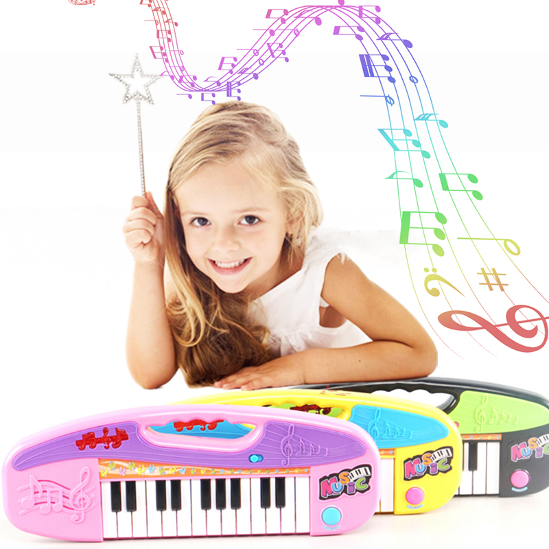 Mini Electronic Piano Children Portable Music Toy Children Electronic Organ Toys Gift for Children Kids Learner Puzzle Toys in Toy Musical Instrument from Toys Hobbies