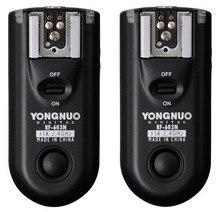 YONGNUO RF-603 N3, RF603 РФ 603 вспышка триггера 2 трансиверы для Nikon D600 D90 D5000 D5100 D3100 D7000