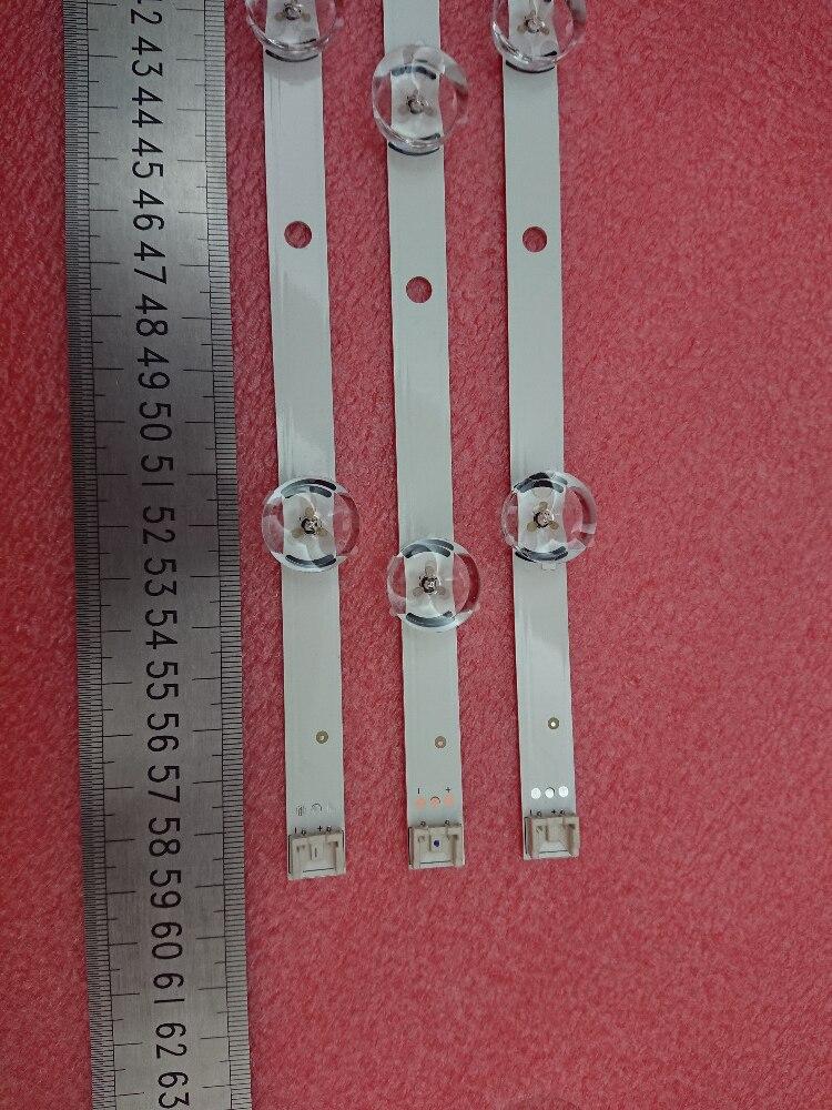 New 5set 15pcs 6 7LED 590mm LED strip Replacement for LG 32LN5100 32LN545B Innotek POLA2 0