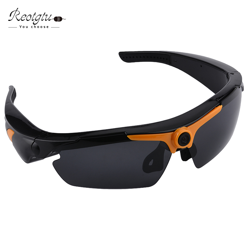 REOTGTU Multifunções RE23 HD1080P óculos de Filmadoras Mini óculos de  gravação de vídeo Óculos De Sol Câmera inteligente c1d168ee2c