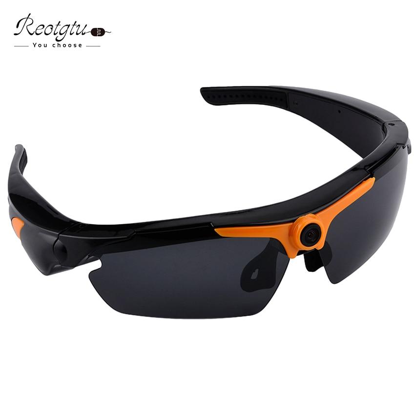 d5df93437f REOTGTU Multifunction RE23 HD1080P recording video Sunglasses Camera smart glasses  Mini Camcorders glasses