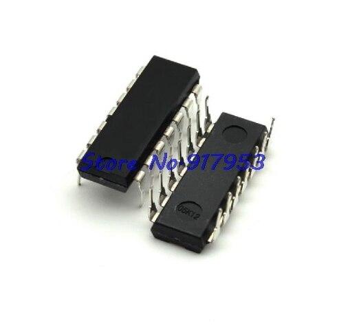 10pcs/lot 74LS00 74LS00N 7400 Quadruple 2-Input NAND Gate DIP-14 In Stock