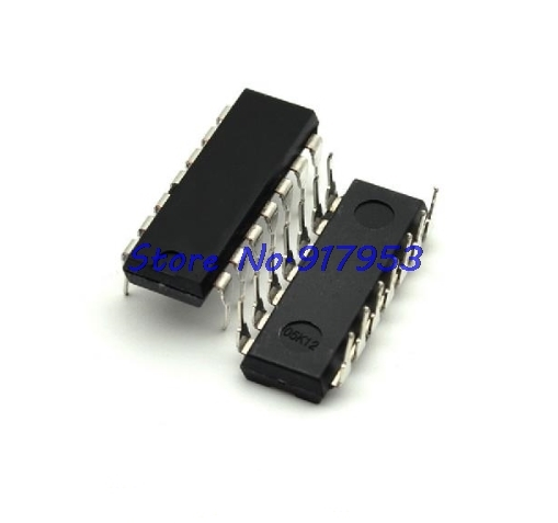 10pcs/lot 74LS00 74LS00N 7400 DIP-14 In Stock