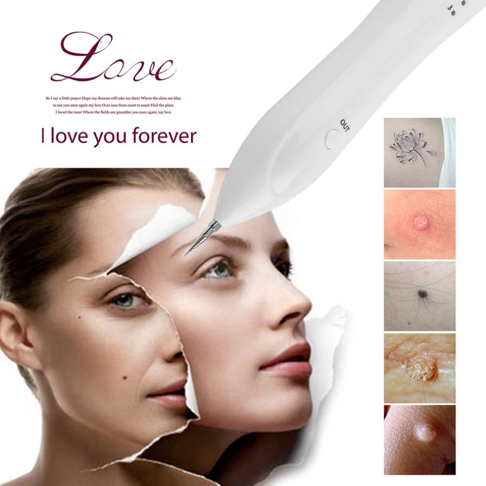 2017 Portable Laser Freckle Dot Mole Dark Spot Tattoo Removal Pen Beauty Skin Machine High Quality Face Skin Care FM88