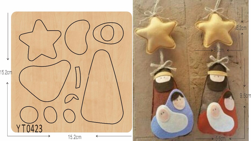 Tribal families DIY new wooden mould cutting dies for scrapbooking Thickness 15 8mm