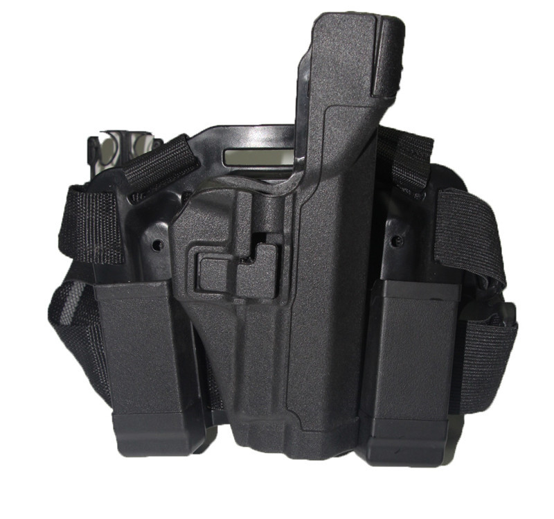 Hunting Airsoft Shooting Sig Sauer P226 Pistol Holster Level 3 Gun Drop Leg Holsters with Magazine Pouch Tactical Accessories drop leg holster leg drop holster leg holster - title=