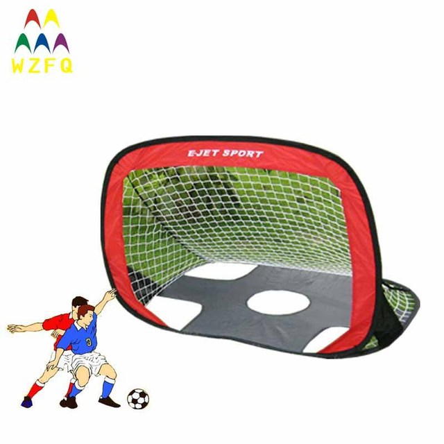 e41de65decc135 Free shipping 2in1 funny football goal for soccer games, sport games, racing  games and education toy