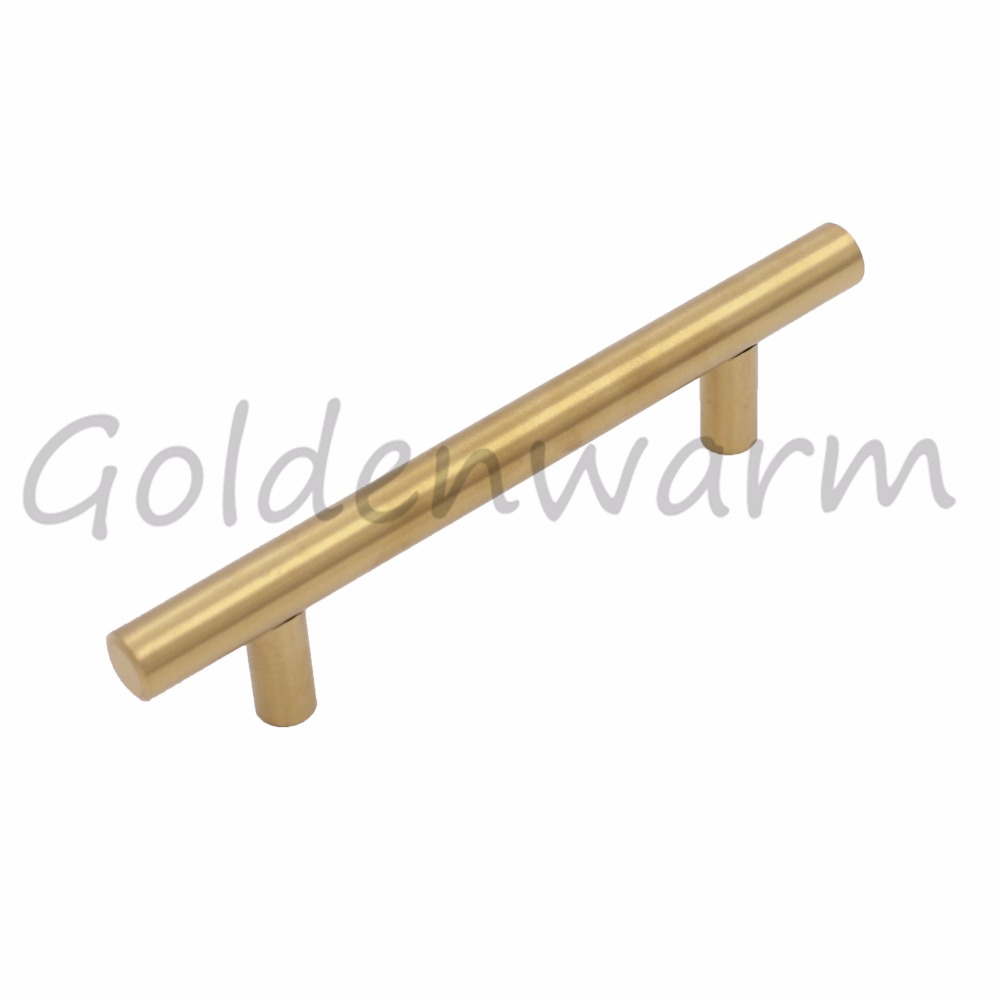 gold cabinet handle stainless steel brass drawer pulls kitchen