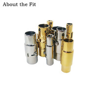 О Fit 2 6 мм 100 комплектов 316L застежки из нержавеющей стали разъемы для пряжек ожерелье браслет крафтинг фурнитура крючки оптовая продажа