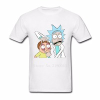 Casual Rick And Morty Men T Shirts Clothes 100 Cotton Short Sleeve Shirts Rick Morty Tshirt