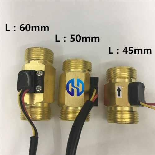 Copper brass Hall flow meter sensor BG3-4-45 (5