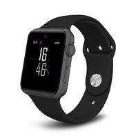 ZAOYI * 2017 DM09 Bluetooth Akıllı Izle HD Ekran Desteği SIM kart Giyilebilir Cihazlar Saat Sync IOS Android Sistemi Için Sihirli Topuzu