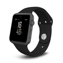 ZAOYI * 2017 DM09 Bluetooth Smart Watch HD Screen Support SIM Card Wearable Devices Clock Sync Magic Knob For IOS Android System