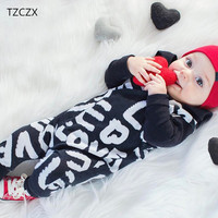 TZCZX 6921 New Children Baby Girls Rompers Novelty Cartoon Printed Jumpsuit For 6 To 18 Month