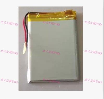 3.7V polymer lithium battery <font><b>405575</b></font> 2000MAH PSP game GPS navigation mobile power Rechargeable Li-ion Cell Rechargeable Li-ion Ce image