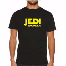 JEDI ENGINEER - TShirt Mens Star Wars Engineering Funny Gift / Present Idea Free shipping  Harajuku Tops Fashion Classic