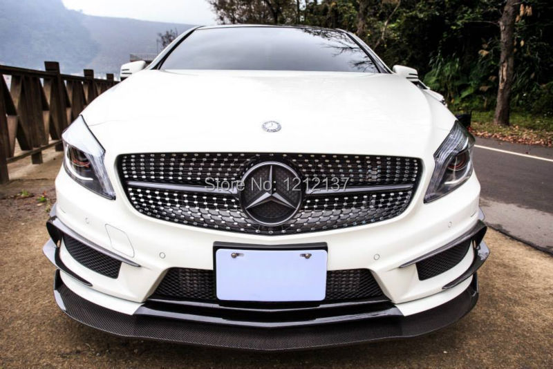 Front Lip Designed Mercedes Benz Class W176 A45/A250/A260 Revozport Style Carbon Fiber Material  -  XUAN XING Auto Parts Co.,LTD store