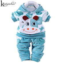 Winter Baby Girl Clothes Sets  Sport Suit Wear Hooded Suit Children Clothing Girls Sets Costume Kids Clothes Sets