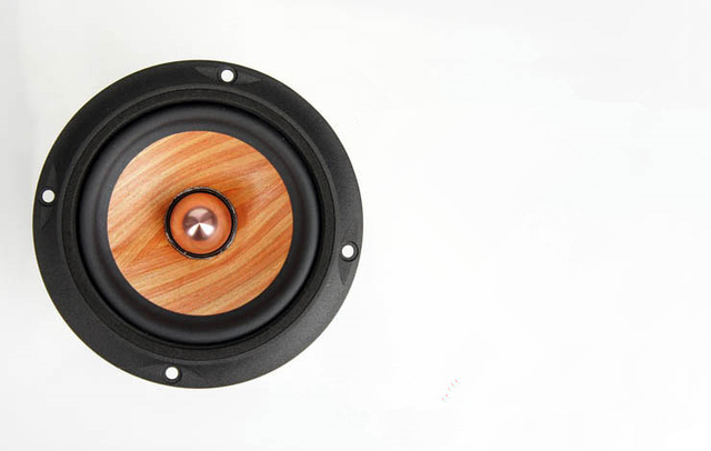 € 57 54 |Queensway madera cono de papel Gama Completa HiFi 4 pulgadas  altavoz conductor aluminio Bullet/skeleton en Amplificador de Electrónica  en
