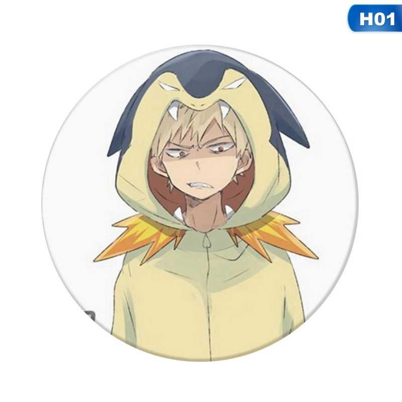 1 stks Anime Mijn Hero Academia Cosplay Badge Cartoon Boku Geen Hero Academia Broche Pins Collection Tassen Badges Voor Rugzakken