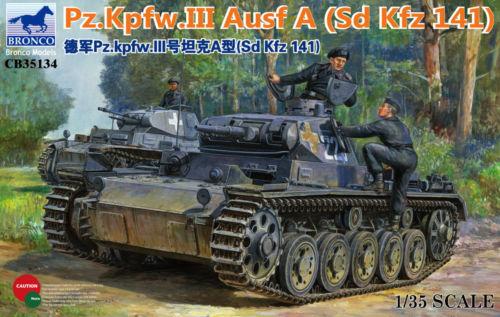 BRONCO CB35134 1/35 Duits Pz.Kpfw.III Ausf A - Bouw en constructie