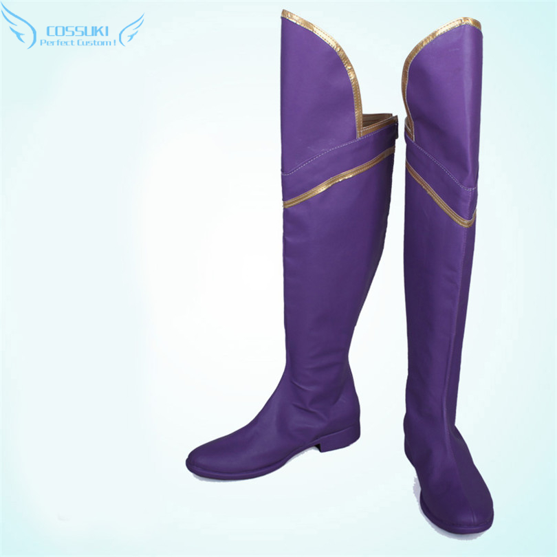 Snow White with the Red Hair Kagami no Shirayukihime Kiki Seiran Shoes Boots Professional Handmade ! Perfect Custom for You !
