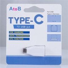 USBc Adaptador, 3.1 USB-C (tipo C) para 3.0 USB (tipo A) alta Velocidade (taxa de dados de 5 Gbps) adaptador Conversor para 2015 novo MacBook (branco)