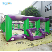 PVC Material Inflatable Football Field Air Structured Soccer Arena For Game