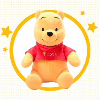 Disney Genuine Authorization Cartoon plush doll Winnie the Poohs bear stuffed animals soft Toy for children gift