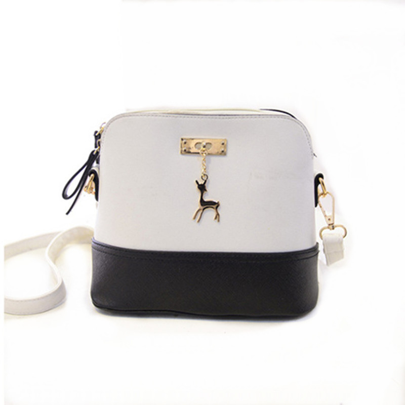 HOT SALE!2018 Women Messenger Bags Fashion Mini Bag With Deer Toy Shell Shape Bag Women Shoulder Bags ha