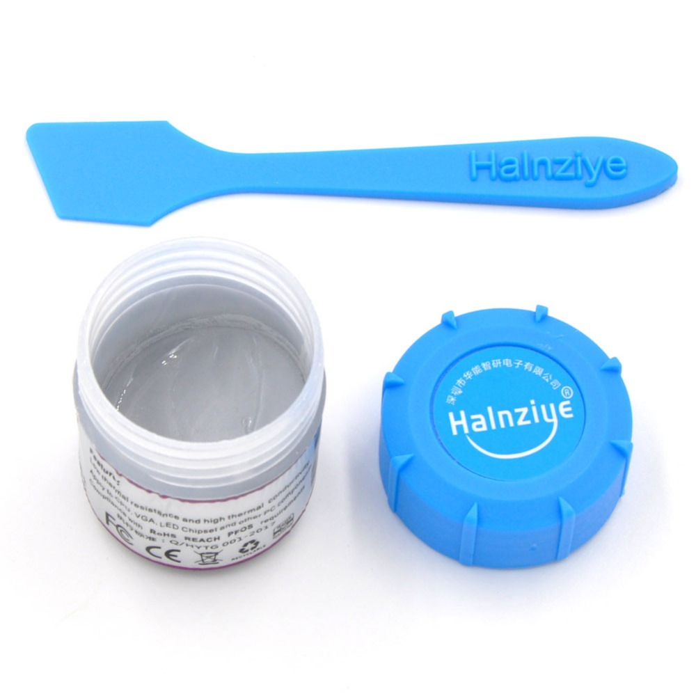 HY880 5.15W 10g Canned Packing Super Carbon Nano Thermal Grease Heatsink Compound Interface Material for CPU GPU LED Components