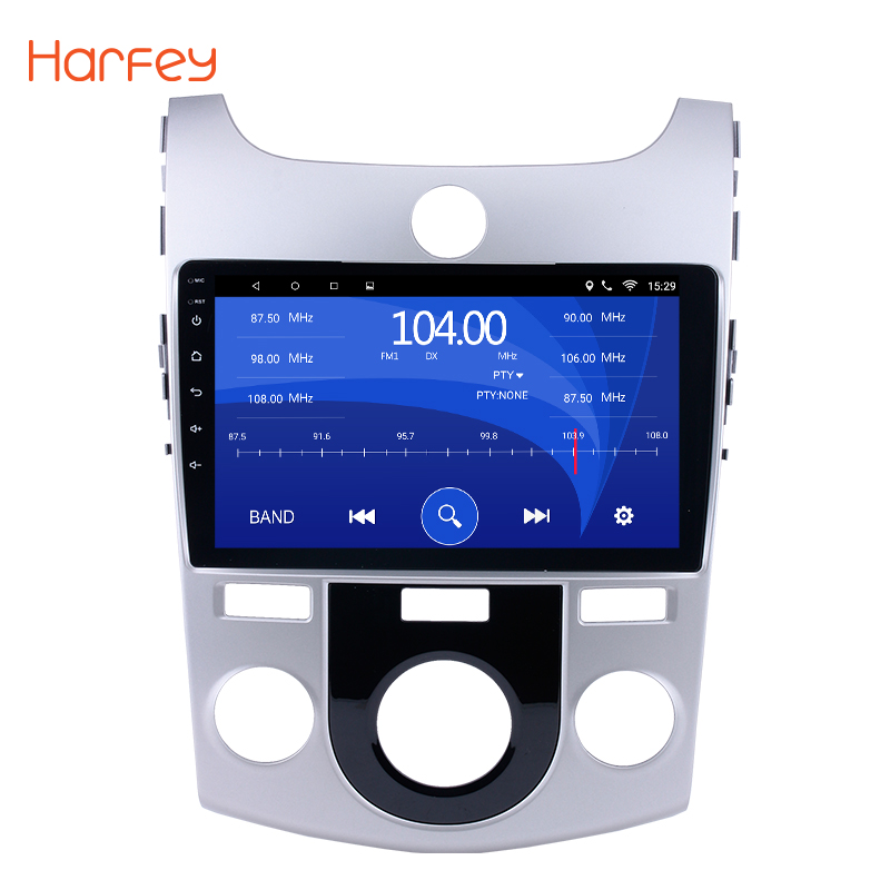 Harfey 2 DIN Car Android 8.1 GPS Navigation Bluetooth For 2008 2009 2012 KIA Forte MT wifi Multi Media 9 inch Car Radio player