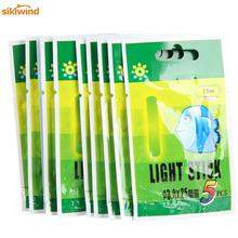 50pcs/lot Fishing Float 25mm/37mm Evening Fluorescent Lightstick Mild Float Rod Glow in Darkish Stick Pesca Equipment for Fishing
