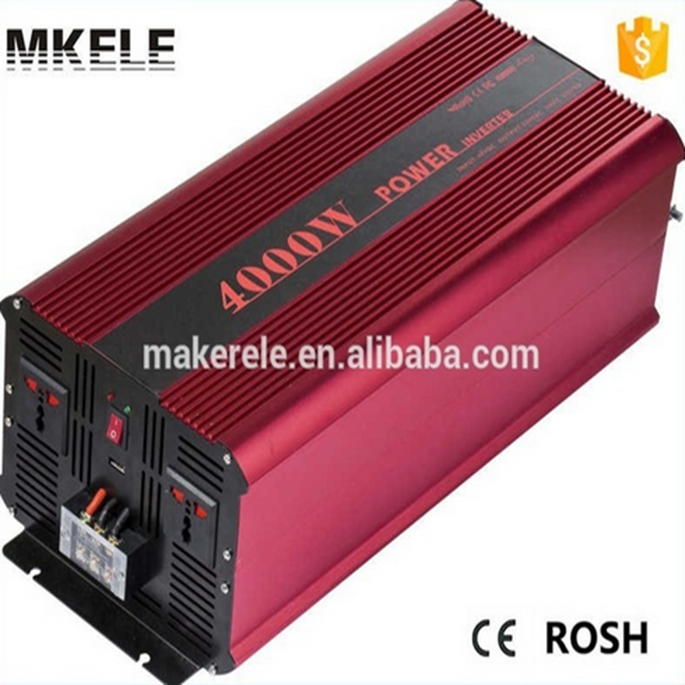 цена на MKP4000-121R industrial inverters 4000 watt pure sine wave inverter 12v to 110v/120v power inverter made in china