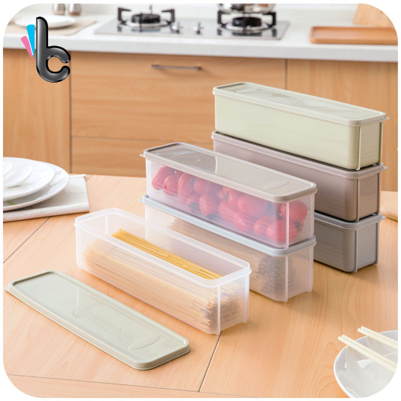 3 Pcs/set Kitchen Pasta Box Fridge Fruit Noodle Box Food