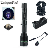 UniqueFire Night Vision Flashlight To Hunt UF 1508 38mm IR 940NM Zoom Infrared Lamp Torch Scope
