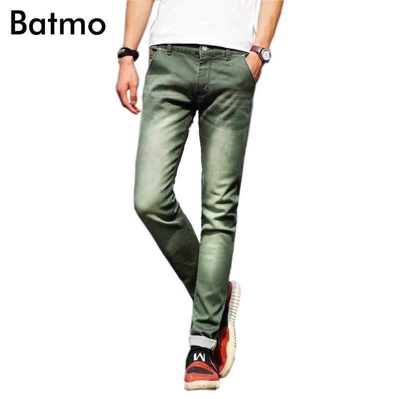 2017 new arrival high quality cotton slim elastic blue jeans men,gray fashion skinny mens jeans ,mens elastic trousers