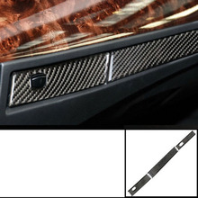 lsrtw2017 carbon fiber car dashboard cup frame trims for bmw 5 series e60 2003 2004 2005 2006 2007 2008 2009 2010 3d car m styling front grille grill trim strip cover for bmw 5 series e60 2004 2005 2006 2007 2008 2009 2010 car accessories