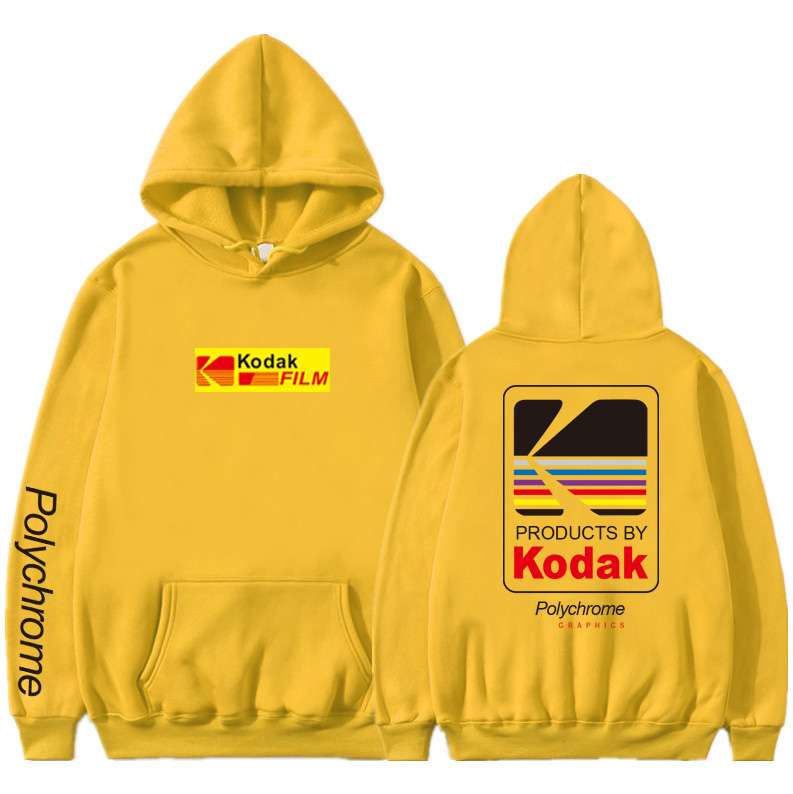 Newest Japanese Funny Cat Wave Printed Fleece Hoodies 19 Winter Japan Style Hip Hop Casual Sweatshirts KODAK Streetwear 21