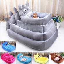 Cute cartoon dog kennel teddy poodle samoyeds warm seasons pet cat nest nest dog bed manufacturers selling