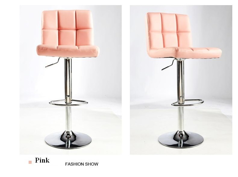 pink color computer chair hairdressing massage shop stool retail wholesale free shipping цена